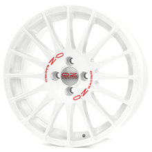 OZ Superturismo WRC Race White + Red Lettering