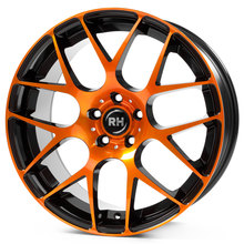 RH Alurad NBU Race color polished - orange
