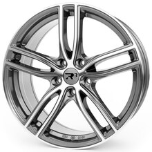 R³ Wheels R3H01 anthracite-polished