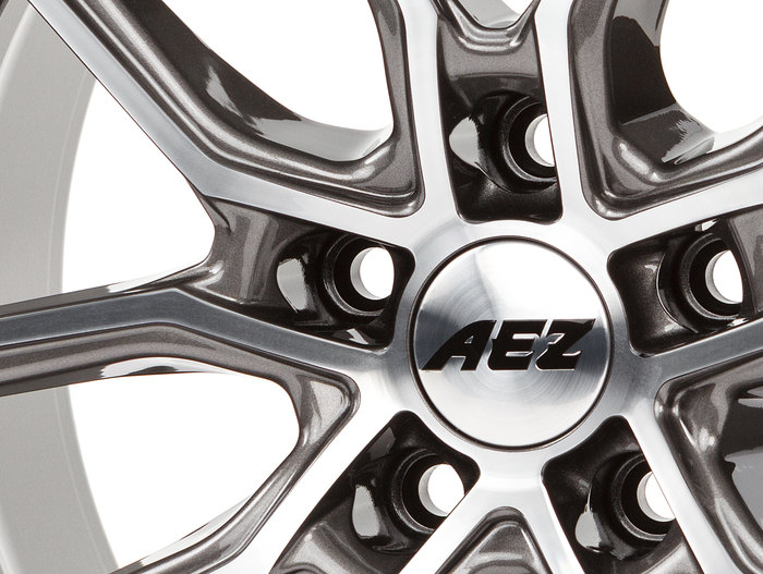 AEZ Raise Gunmetal polished